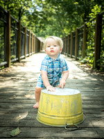 Wyatt's 1 Year Session
