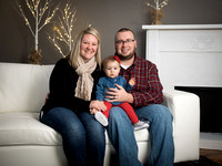 Payton's 9 Month Holiday Session