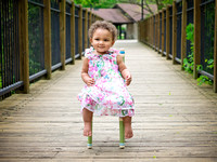 Lyza's 1 Year Session